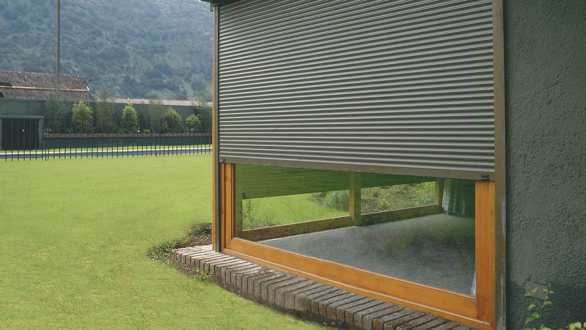 Persianas en aluminio cortinas de aluminio cortinas de for Persianas para terrazas